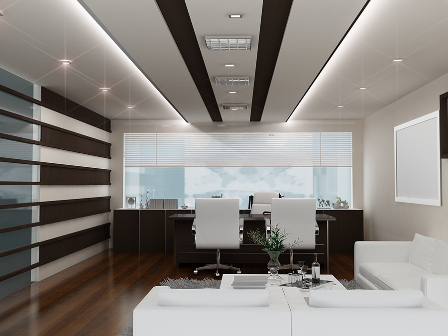 Md cabin ceiling design for Office cabin design
